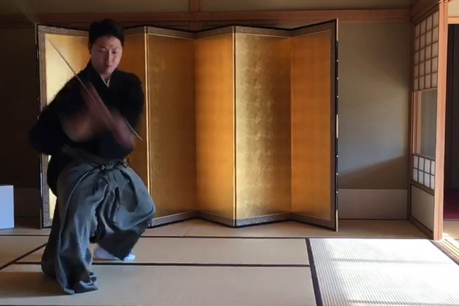 京都 サムライ 侍 演舞